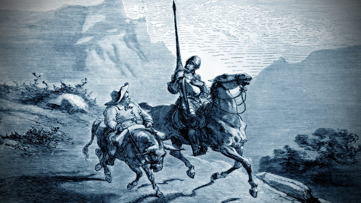 the development of gilgamesh and the odyssey to don quixote