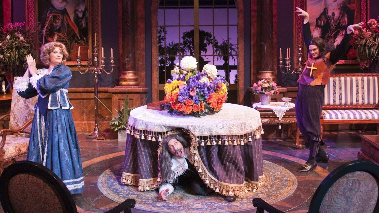 the masking of true identity as portrayed in the comedy tartuffe
